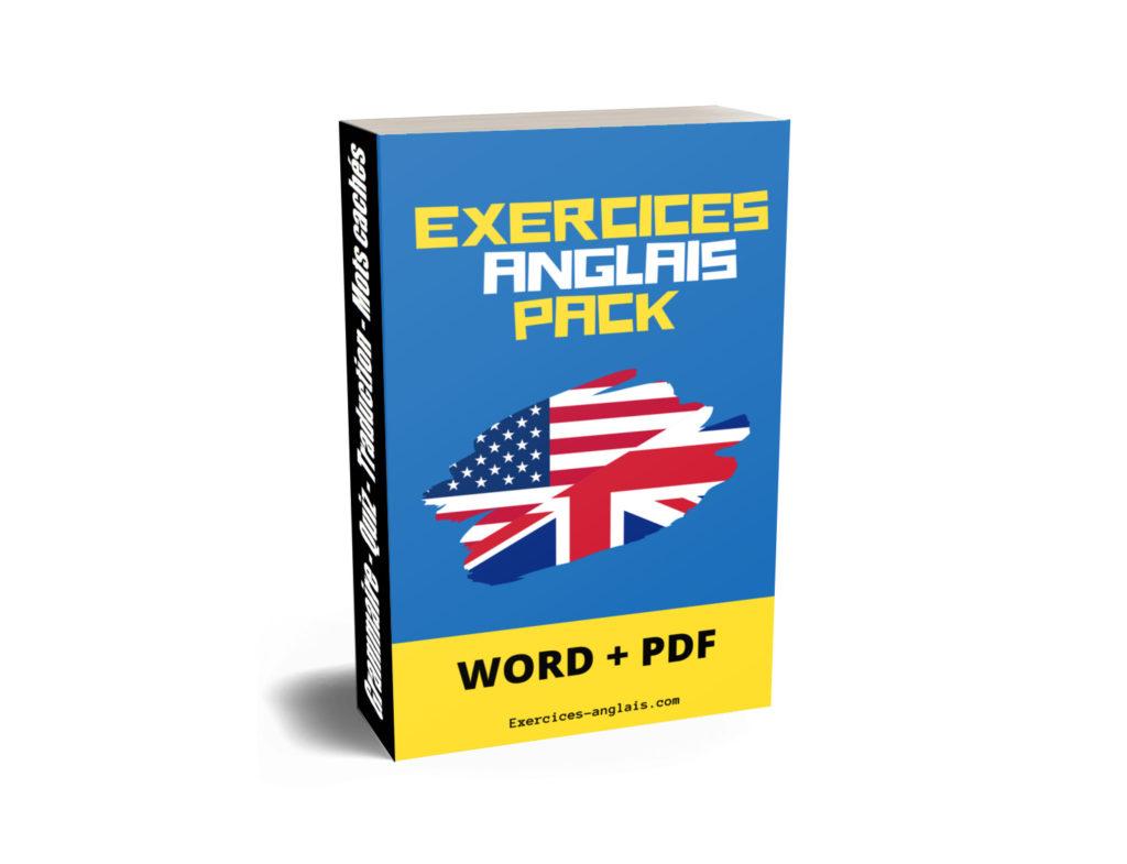 Exercices D Anglais A Imprimer Pdf Et Word Exercices Anglais Com